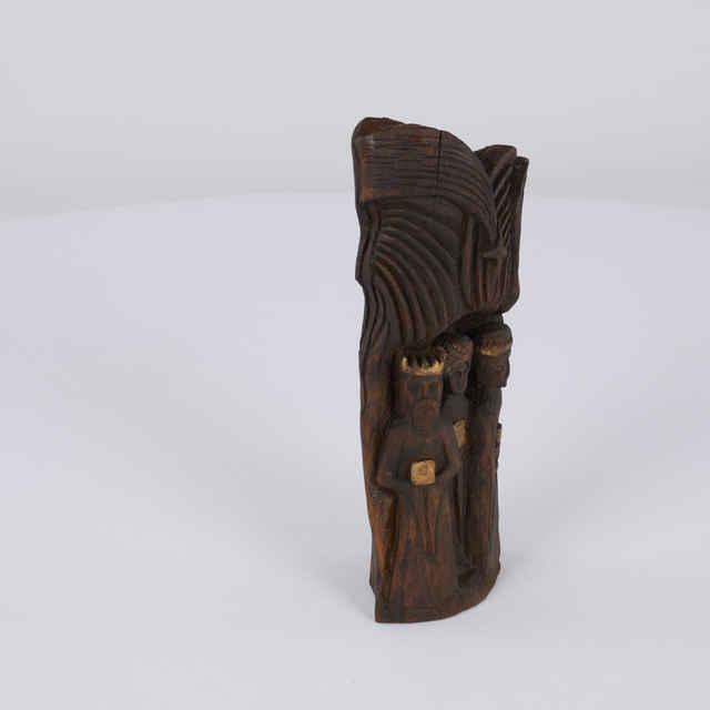 Plastika drevená - Betlehem, orech, autor : František Michálek - František Michálek