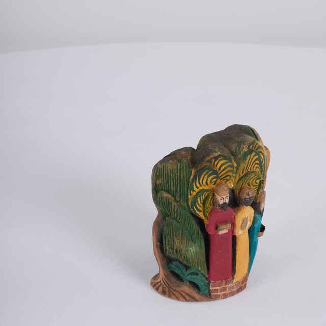Plastika drevená - Betlehem - traja králi - javor, autor : František Michálek - František Michálek