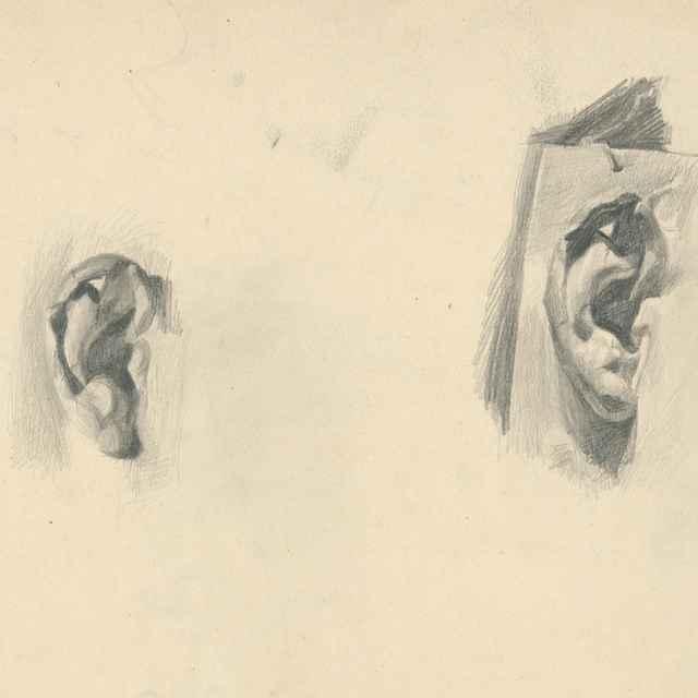 Štúdia ucha - Katona, Ferdinand