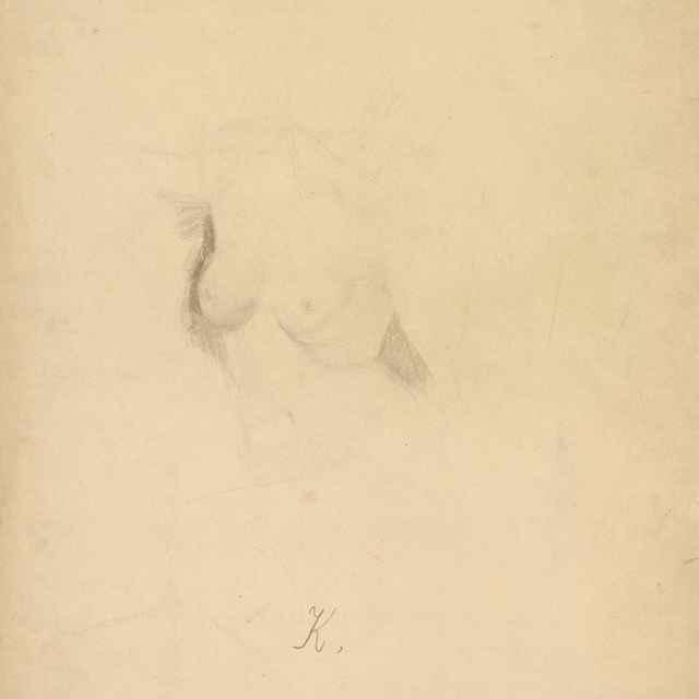 Poprsie ženy - Katona, Ferdinand