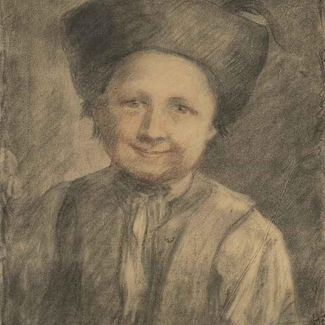 Štúdia sedliackeho chlapca - Hanula, Jozef