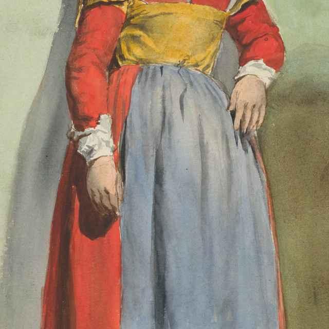 Žena v talianskom kroji - Klimkovič, Vojtech