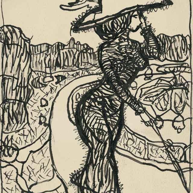 Karikatúra dámy - Kövári-Kačmarik, Konštantín
