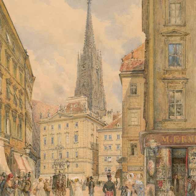 Viedeň - Alt, Franz