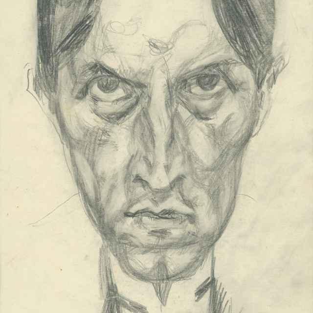 Autoportrét - Bauer, Konštantín