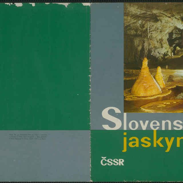 Súbor plagátov Slovenské jaskyne v spoločnom obale