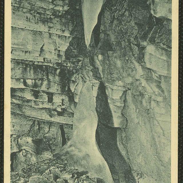 Pohľadnica Demänovská ľadová jaskyňa
