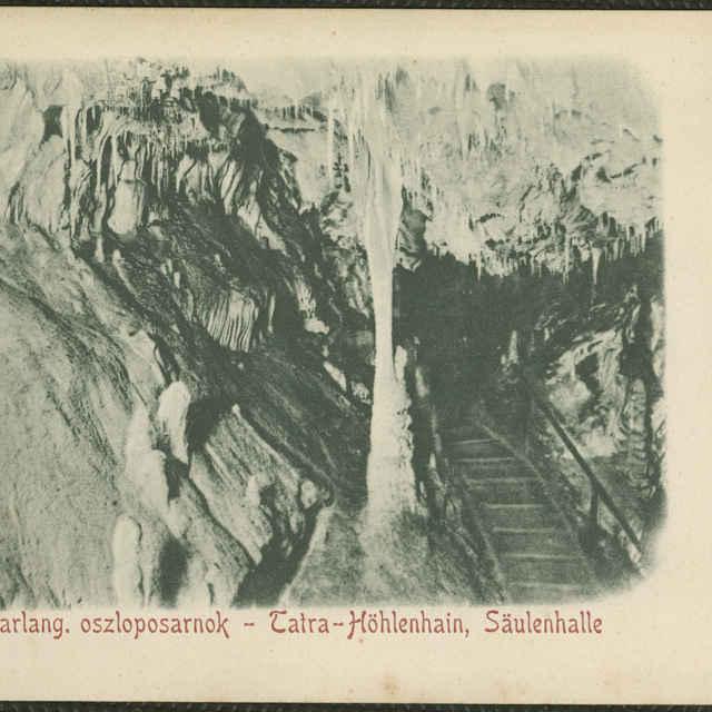 Pohľadnica Belianska jaskyňa