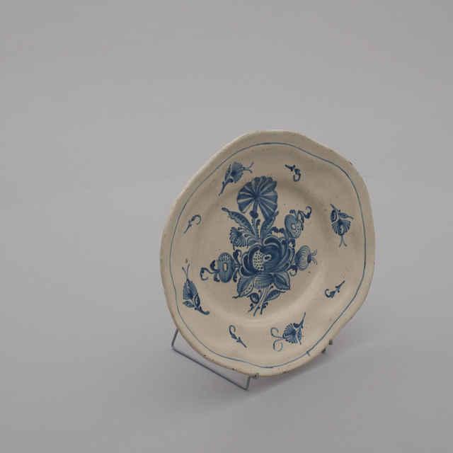 Tanierik fajansový oválny, Stupava, zač.19.storočia