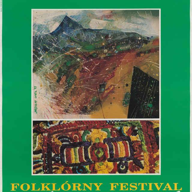 Folklórny festival Východná 1993