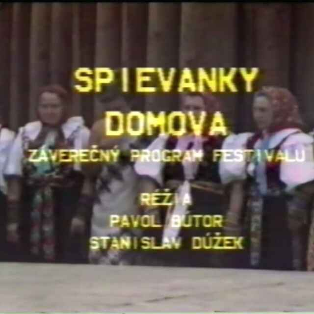 Folklórny festival Východná 1986 III.