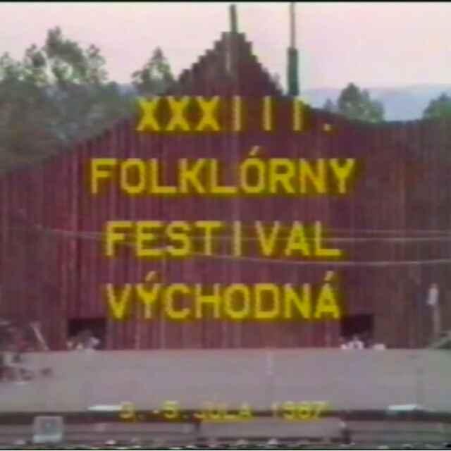 Folklórny festival Východná 1987 II.