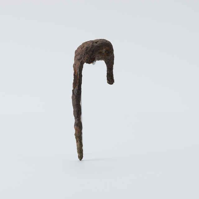 Spona železná, fragment