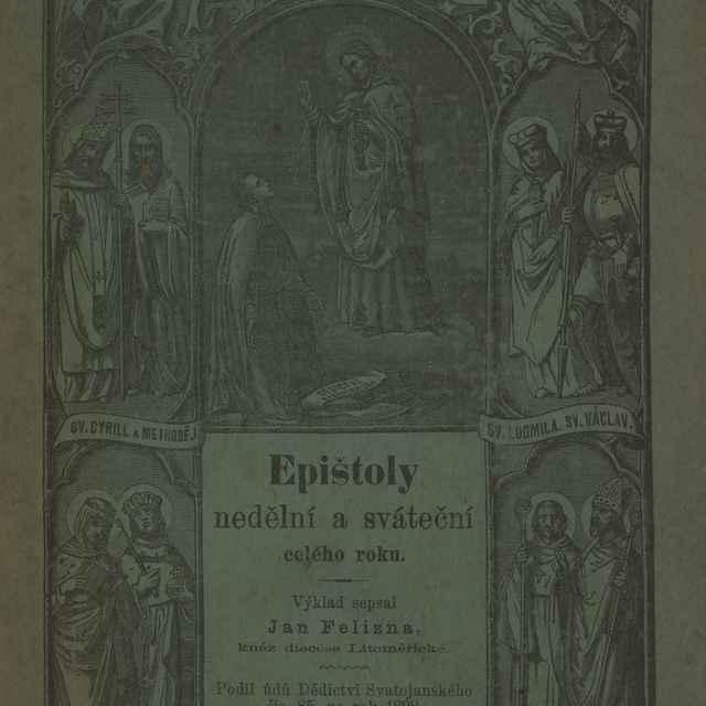 Epištoly nedĕlní a sváteční celého roku.