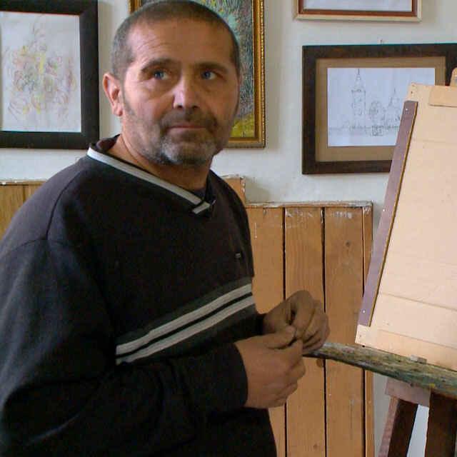 Ondrej Ruszó - tvorba výtvarného diela - Čonka, Roman