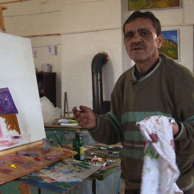 Tibor Oláh - tvorba výtvarného diela - Čonka, Roman