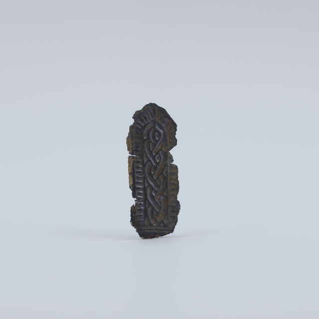 Nákončie bronzové, fragment