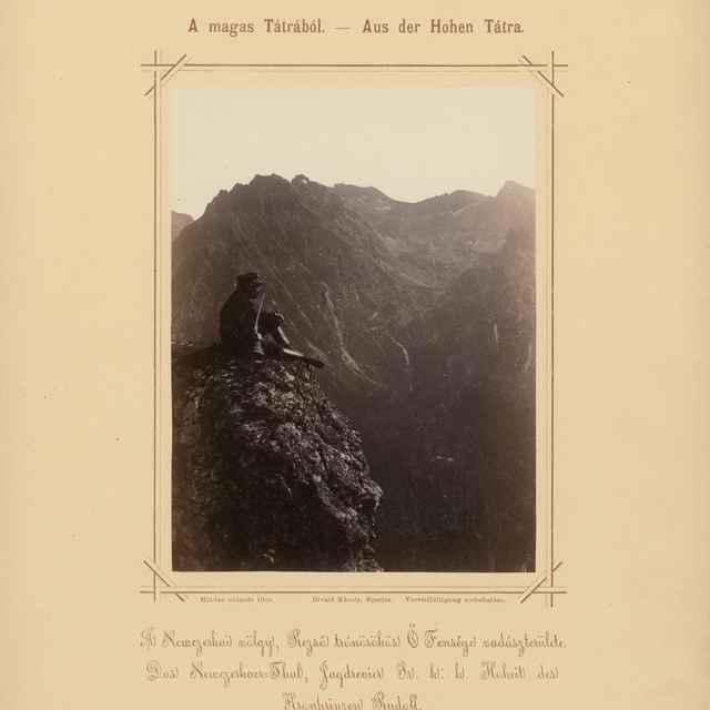Dolina Nefcerka, poľovný revír Jeho Výsosti Korunného princa Rudolfa - Divald, Karol