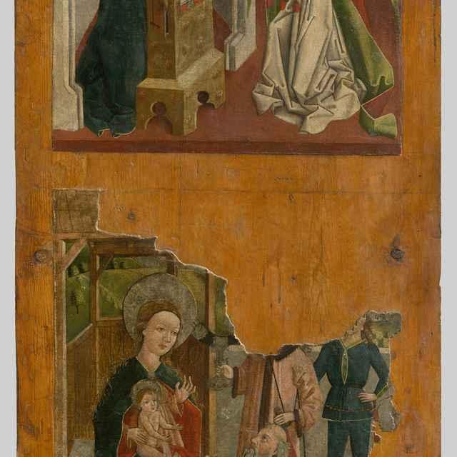 Zvestovanie, Klaňanie-1.strana, Bolestná Panna Mária - 2.strana - Spišský maliar