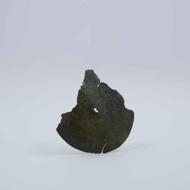 Faléra bronzová, fragment