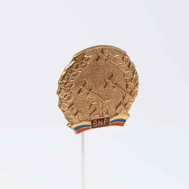 Odznak k 25.výročiu SNP