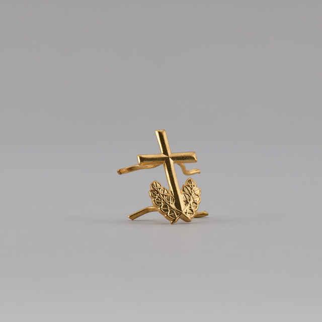 Znak rozlišovací duchovná služba - zlatistý