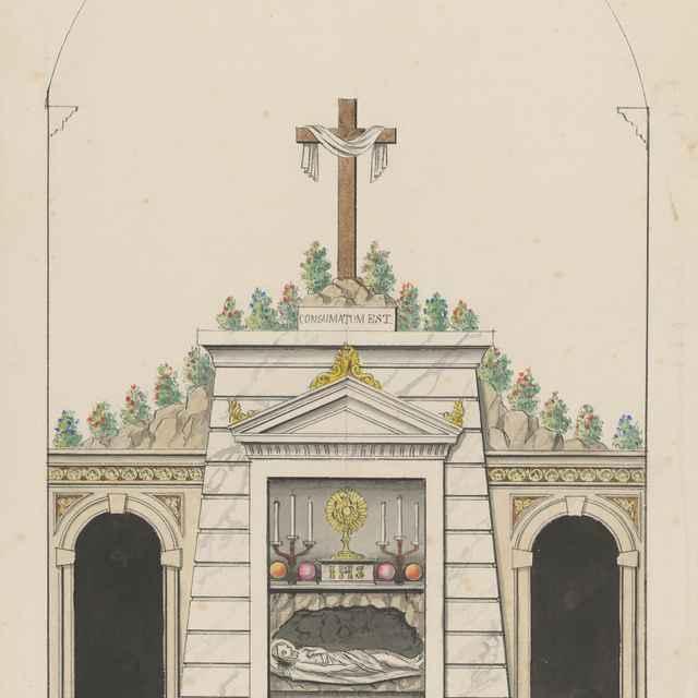 Návrh na sv. hrob pre Prešov - Švestka, Konrád
