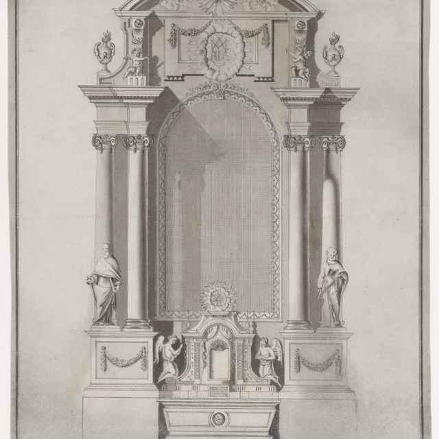 Návrh na oltár - Švestka, Konrád