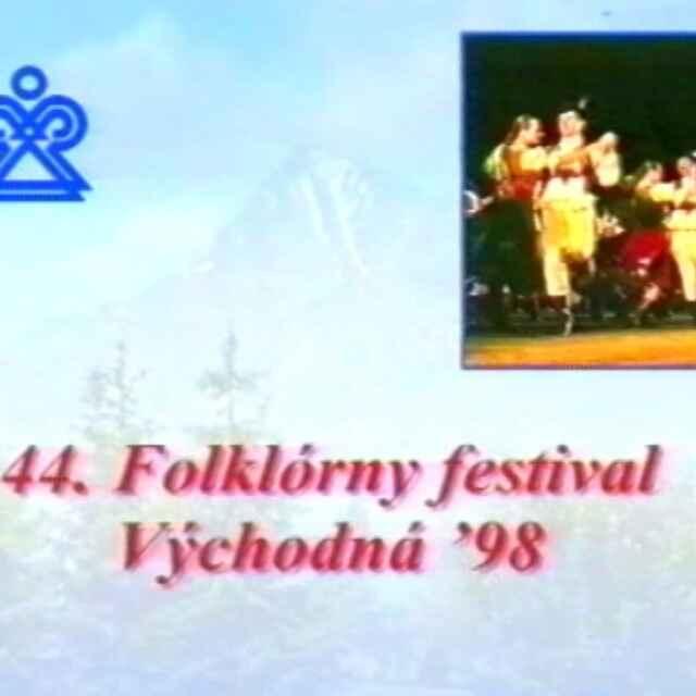 Folklórny festival Východná 1998 I./IV. - Gilániová, Naďa