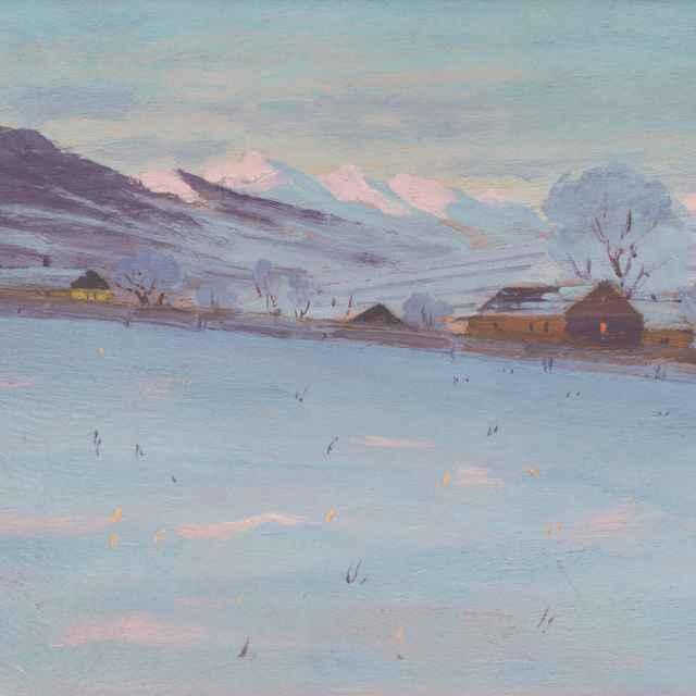 Krajina v zime - Katona, Ferdinand