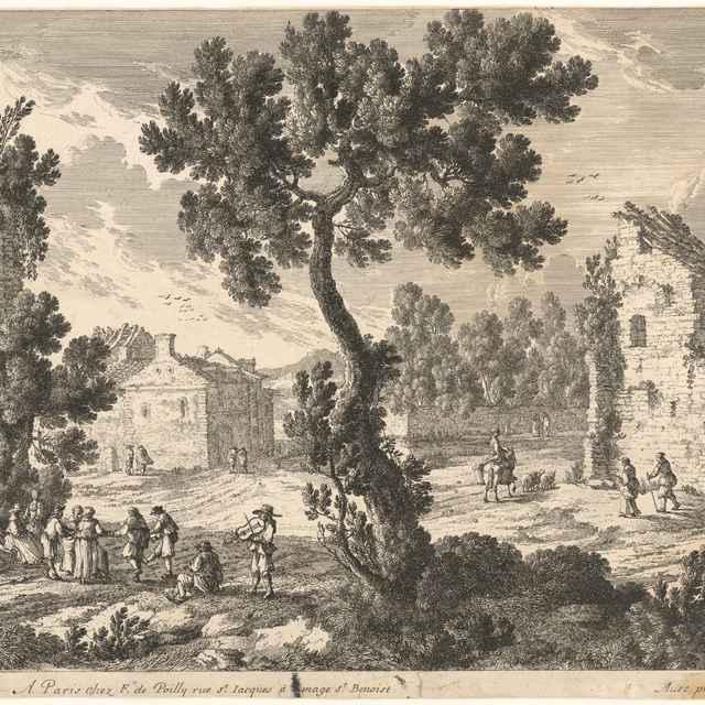 Prímestská krajina - Pérelle, Gabriel
