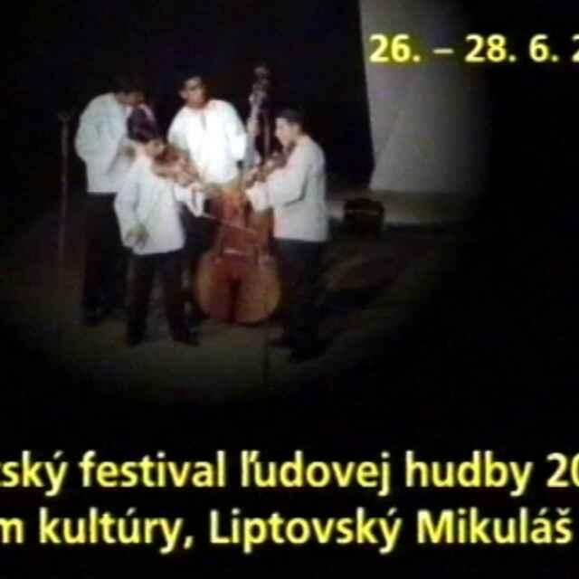 Detský festival ľudovej hudby Liptovský Mikuláš 2000 I./II.