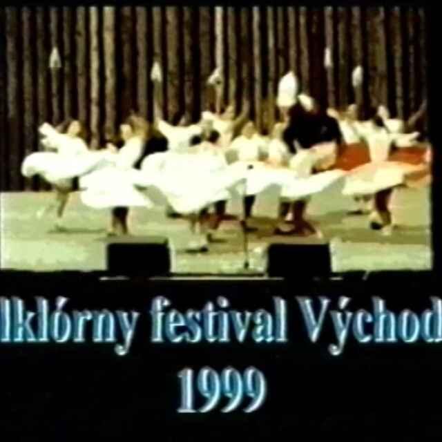 Folklórny festival Východná 1999