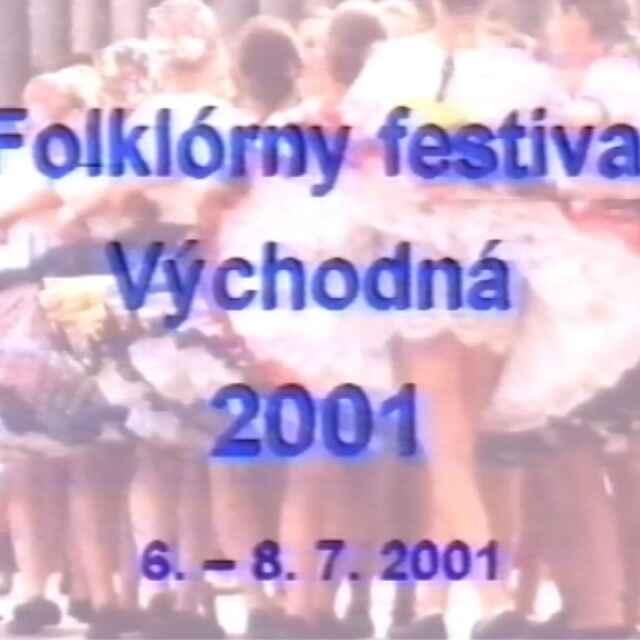 Folklórny festival Východná 2001 - Adzimová, Lenka