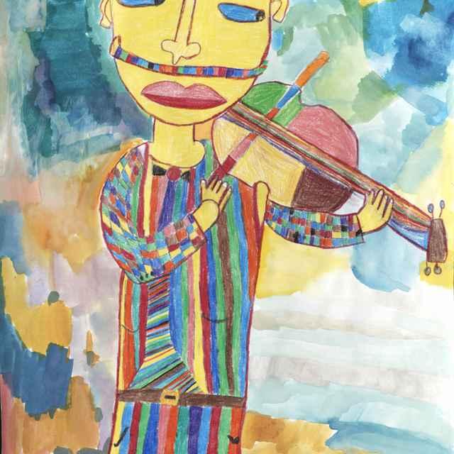 Skvelý huslista