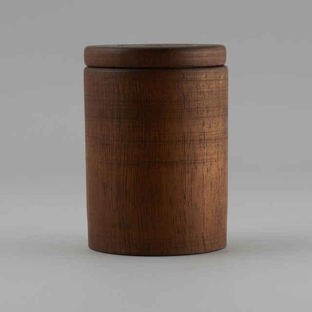dózička drevená s rytým dekorom