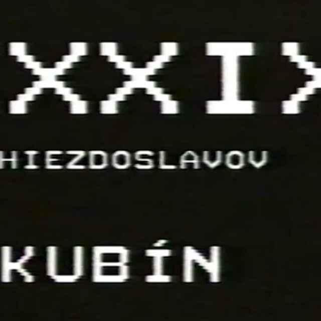 39. Hviezdoslavov Kubín I./IV. - Ocharovichová, Zuzana
