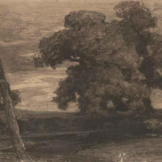 Krajina s košatými stromami - Čordák, Ľudovít