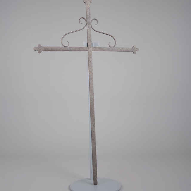 Kríž zelený, kováčska práca, 19. stor.