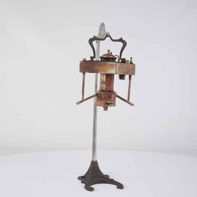 Lampa stolová, 20. stor. - neznámy (osobné meno)