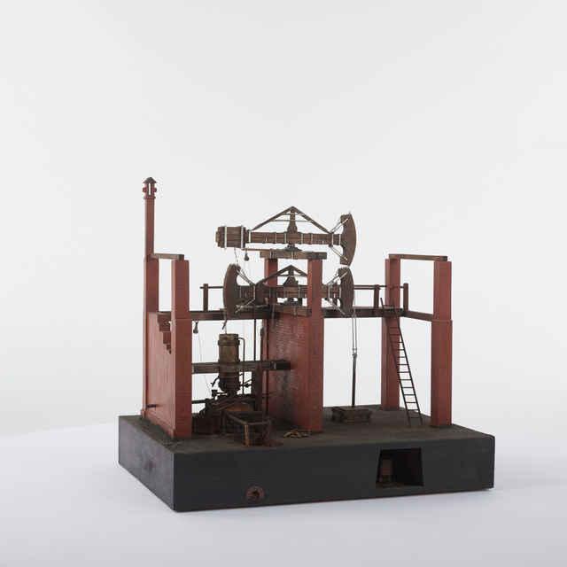 Model Potterovho parného stroja