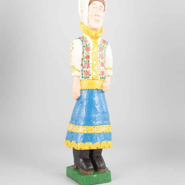 Soška drevená - Žena z Piešťan
