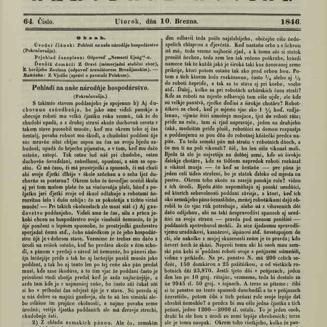 Slovenskje národňje novini
