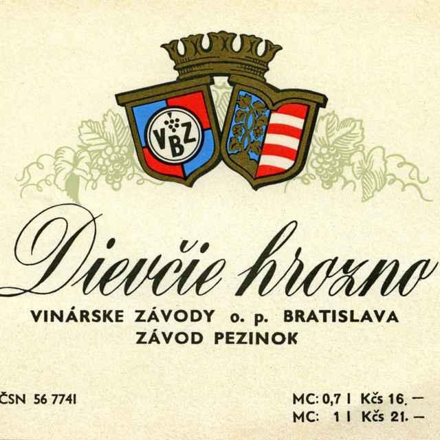 Etikety vínna