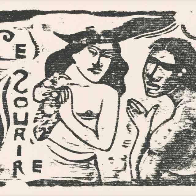 Záhlavie revue Úsmev - Gauguin, Paul