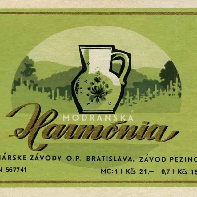 Etiketa vínna