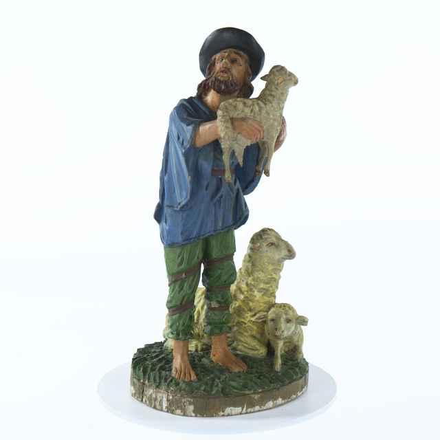 betlehem - pastier s ovcami