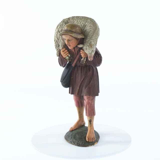 betlehem - pastier s ovcou