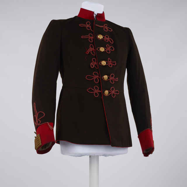 Uniforma - kabát rakúsky delostrelecký 1868