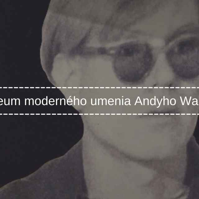 Múzeum moderného umenia Andyho Warhola - Maletz, Soňa